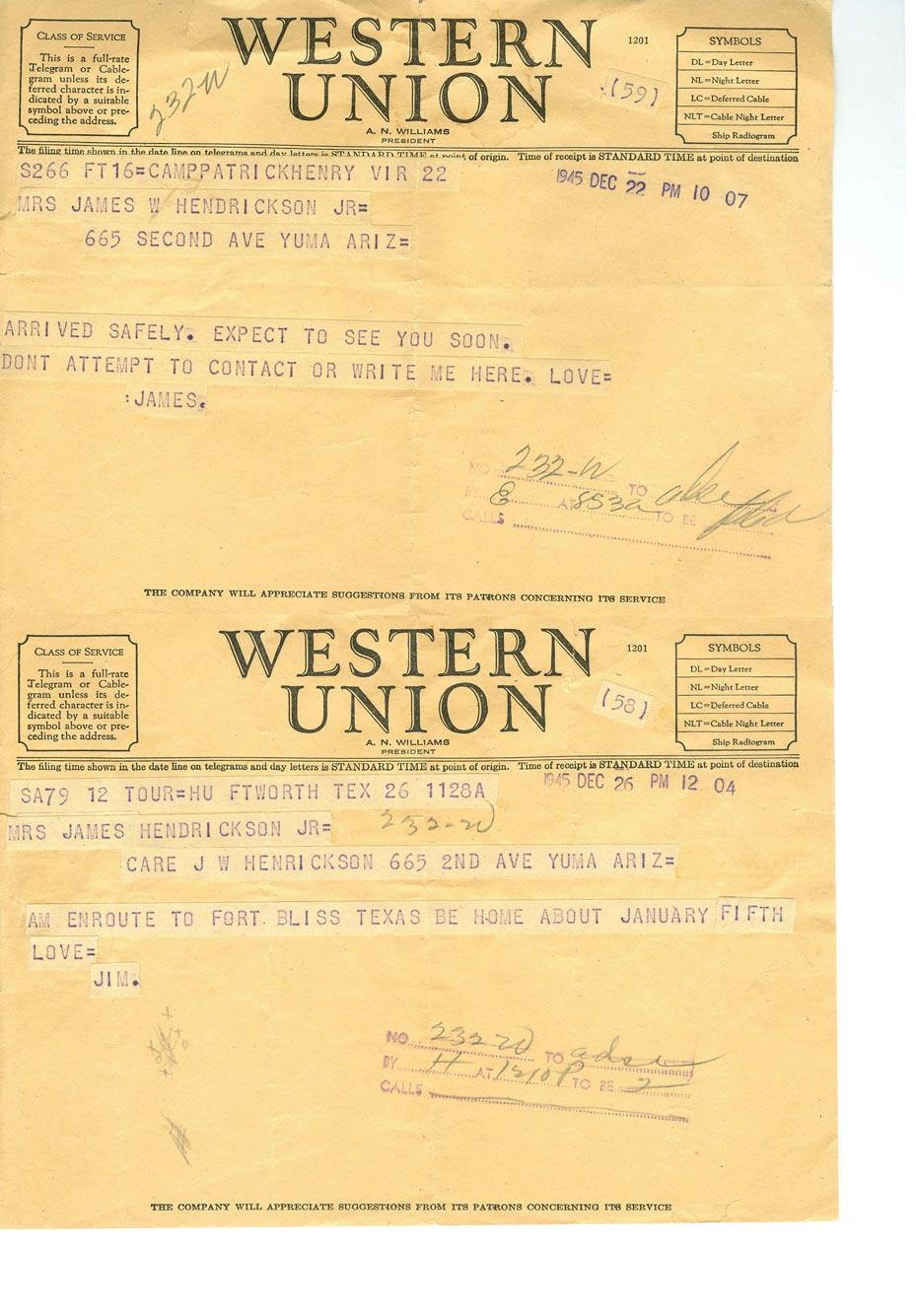 12-22-45-12-26-45-telegrams